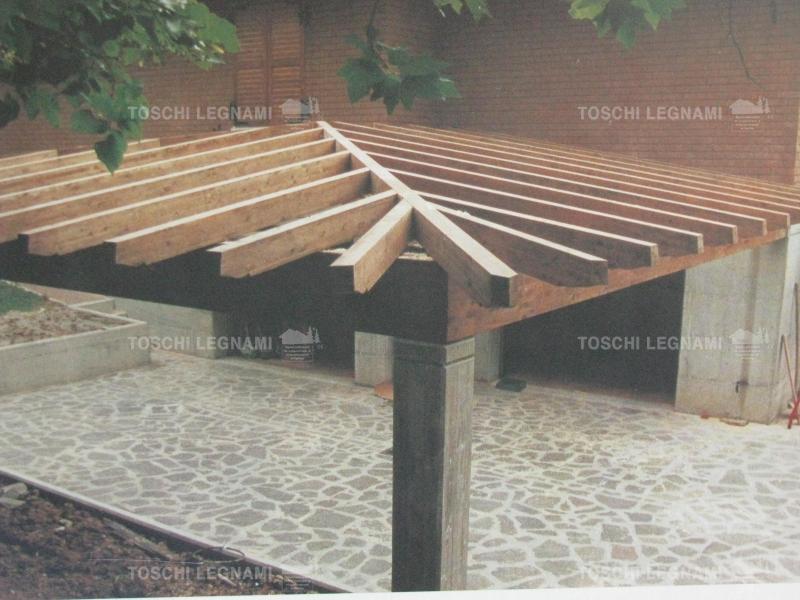 Porticati in legno pensiline e gazebo modena ambienti for Legnami savignano