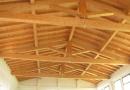 foto tetto in legno