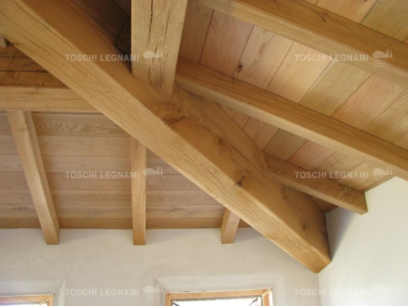 Coperture e tetti in legno modena: produzione e posa - Toschi Legnami